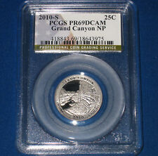 2010-S GRAND CANYON PROOF QUARTER- PCGS GRADED PR-69DC