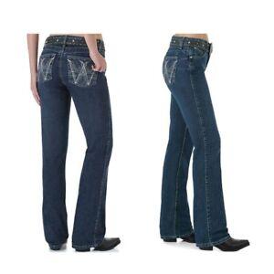 Wrangler Q Baby Jeans Womens Denim Size 1/2 X 34 10 12