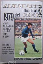 ALMANACCO ILLUSTRATO DEL CALCIO 1979=EDIZIONI PANINI=SERIE A-B-C-D=ITALIA=COPPE