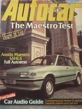 Autocar magazine 28 May 1983 featuring Austin Maestro road test, Vauxhall