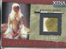 Xena Season 6 Costume Card R9 Angelic Callisto [Gold]