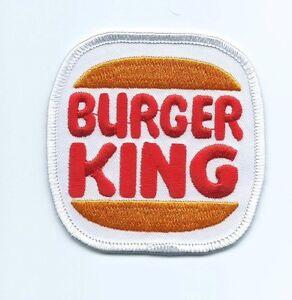 Burger king employee/driver patch 3 X 3 #5041 & #7704