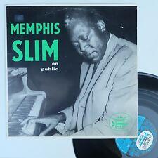 "LP Memphis Slim feat. Matthew Murphy  ""Memphis Slim en piblic"" - (TB/EX)"