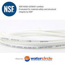 10 m Fridge Icemaker Water Filter Pipe Tube 1/4' 6mm NSF Certified Tubing