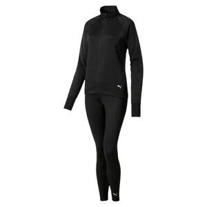 Puma Damen ACTIVE Yogini Woven Suit / Trainingsanzug 580497 Schwarz