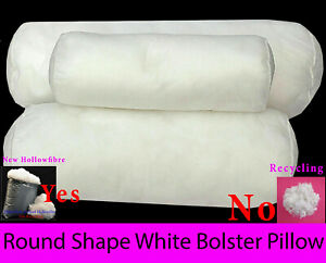 Round Bolster Pillow Cushion Shape White Long Body Support Pregnancy Orthopaedic