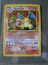 Charizard Original Pokemon Card 4/102 RARE  original owner 1999