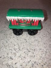 Thomas The Train Winter Caboose Wooden Train Christmas Holiday Magnetic GUC