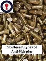 Euro cylinder Rim cylinder re-pinning Anti-Pick pins x 50 bag 2.8mm 1st P&P