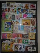 Lutte 50 timbres + 1 Bloc Neufs & Oblitérés Dentelés & ND