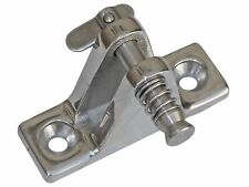Bimini Angled Deck Hinge 316 Stainless Steel with 90º Removable Pin