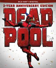 Deadpool (Blu-ray Disc, 2018, 2 Year Anniversary Edition)