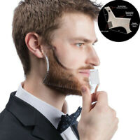 Men's Beard Combs Shaping Styling Template Comb for Hair Trim Beard Tools New