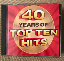Readers Digest 40 Years Of Top Ten Hits 6 cd set 60's 70's 80's And 80's Set