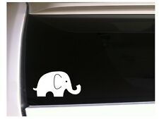 "Cute Elephant 6"" Vinyl Sticker Car Decal *K47 Animals Desert Africa"