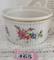 "ROYAL WORCESTER Floral SOUFFLE DISH Oven To Table Ware 5.5"" Diameter 3"" Deep"