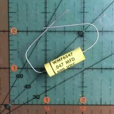 CORNELL DUBILIER AXIAL Film CAPACITOR 1uF 400v 10/% WMF4W1 AUDIO Amp Polyester x4