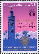 Morocco 1974 Rotary International/Welfare/Education/Medical/Buildings 1v n45067b