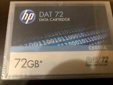 HP DAT72/DAT-72 Data Cartridge 36/72GB DDS5/DDS-5 C8010A NEW. Sealed