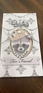too faced Raccoon Eyeshadow palette Brand New Without Box
