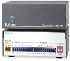 Extron MDA 3A One input Three Output 1x3 Stereo Audio Distrbition Amplifier