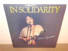 Arlene Mantle . In Solidarity . Insert . LP