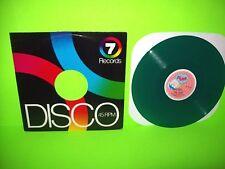 """The Cure – A Forest Original 1980 12"""" Vinyl Record GREEN Vinyl Rare Post-Punk"""