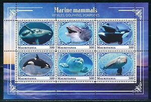 Mauritania - MNH Sheet Animals Fish (2018)