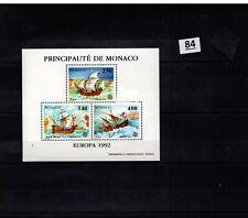 // MONACO - MNH - COLUMBUS - SHIPS - EUROPA CEPT 1992