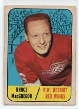 1X BRUCE MACGREGOR 1967 68 Topps #102 EX DETROIT RED WINGS