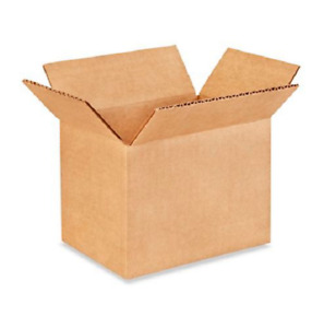 100 7x5x5 Cardboard Paper Boxes Mailing Packing Shipping Box Corrugated Carton