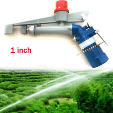 1'' Inch Irrigation Spray Tool Sprinkler Large 360° Adjustable Impact Area Water