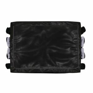 Rubbermaid Cart Cover in Black Made of Vinyl for 300L 228 x 889 x 666mm