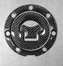 Real Carbon Fiber Fuel Gas Cap Cover Sticker Protector Fits Honda CB/VFR/RC/CB