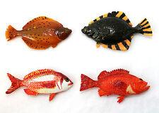 4er Set Magnete Fische ca. 5 x 8 cm Polystone