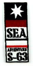 Applikation zum Aufbügeln Bügelbild 3-331 Sea