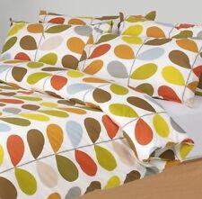 Orla Kiely SuperKing Duvet Cover Multi Stem + Pillowcases Bedding Set Super King