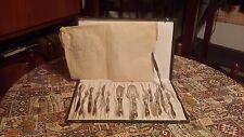 Servizio posate per dolce SOLINGEN 14 pezzi con scatola in argento 800 anni 60