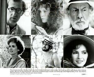 """A Midsummer Night's Sex Comedy"" press kit w/3 photos, Woody Allen & Mia Farrow"