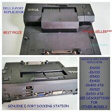 Genuine Dell Latitude E6400 E6510 E6500 E6530 E- Port Docking Station PR03X