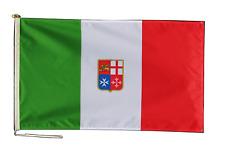 Italie Marchande Ensigne Drapeau 3'x2' (90cm x 60cm) Avec Corde Et Bouton - Last