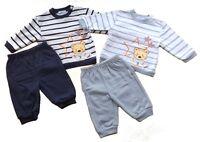 Baby C  ensemble 2 pièces jogging garçon bleu clair ou marine bébé 3 à 9 mois
