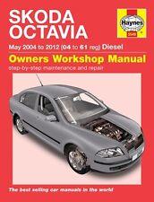 Skoda Octavia Diesel 04-12 04-61 5549 Haynes New