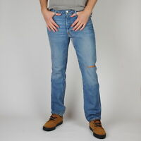 Levi's 501 Original fit restyled Yellow Canyon Blau Herren Jeans 33/32