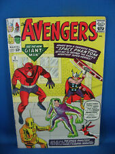 THE AVENGERS 2 VF- CLASSIC COVER 1963 MARVEL HOT