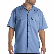 Dickies Gulf Blue Classic Short Sleeved Workshirt