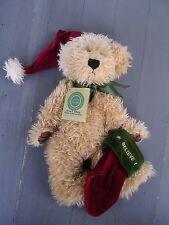 Boyds J.B. Bean And Associates Investment Collection Teddy Bear Christmas Elvin
