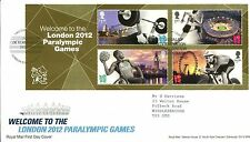 Royal Mail fdc 2012 Welcome to London 2012 Paralympic Games, London E20 pk