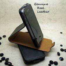 Negro funda tipo cartera cuero artificial libro para Samsung Galaxy S8