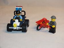 Lego City 60006 Polizei Quad, Police ATV, Gangster Dieb Polizist